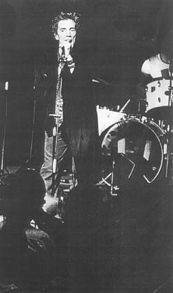 PiL live at Brussels, Theatre 140, Belgium, 1978 © unknown