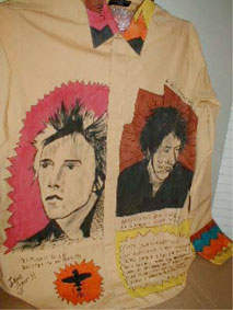 Mark Gray PiL shirt; circa 1978/79