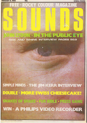 Sounds, February 8th, 1986