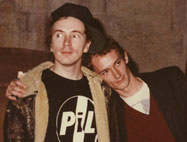 John Lydon & Keith Levene, San Francisco, November 1982 © Maureen Baker, courtesy Bob Tulipan
