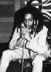 Don Letts at Gunter Grove; circa 1978 © unknown