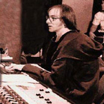 Nick Launay at the desk © courtesy www.Launay.com