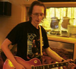 JKL in the studio with NIC, April 2006. © & Thanks to Ted Parsons.