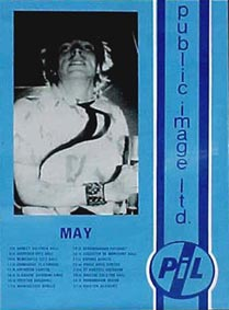 PiL - Unofficial May 1986 UKTour Poster