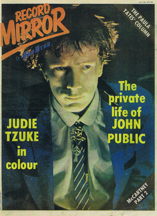 Record Mirror, July 28th, 1979