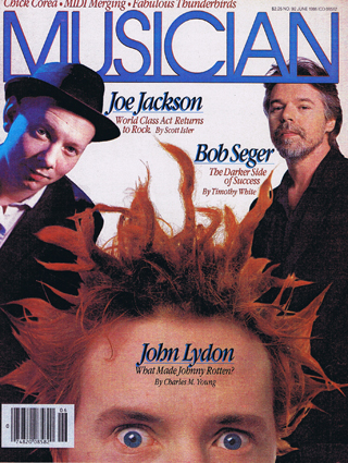 Musician magazine, USA, June 1986