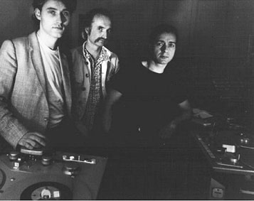 Wobble, Czukay, Liebezeit; circa 1981 © unknown