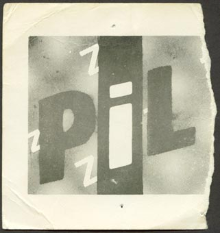 PiL - Seattle, Showbox Theater, November 12th 1982Gig Ticket