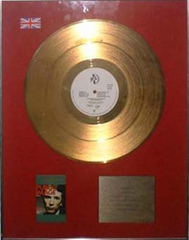 PiL - 'First Issue' Gold Disc